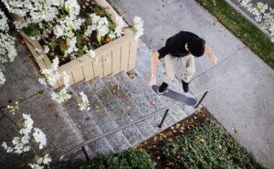 Corey Hendricks_ kickflip front board