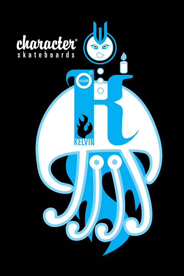 Character Skateboarding Iphone Wallpapers