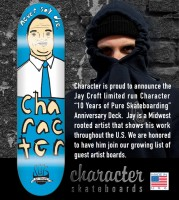 character JAY CROFT deck 150