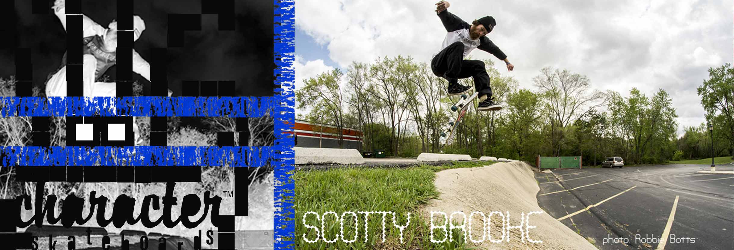 Scotty Brooke - Chicago Skateboarding by Character Skateboards