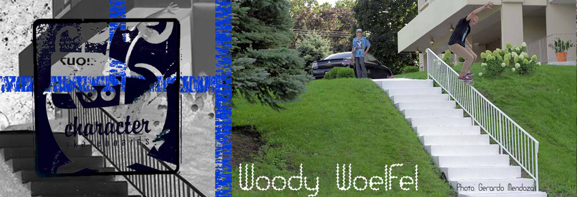 Woody Woelfel - Chicago Skateboarding by Character Skateboards